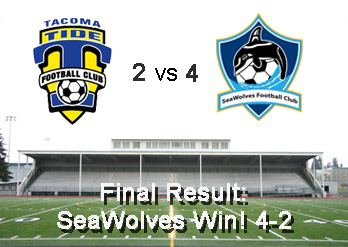 SeaWolves Win Over Tacoma Tide